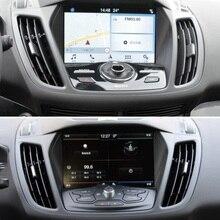 Protecteur décran en verre trempé   Pour Ford Kuga 2013 2014 2015 2016 2017, accessoires voiture GPS Navigation, Film de port en acier