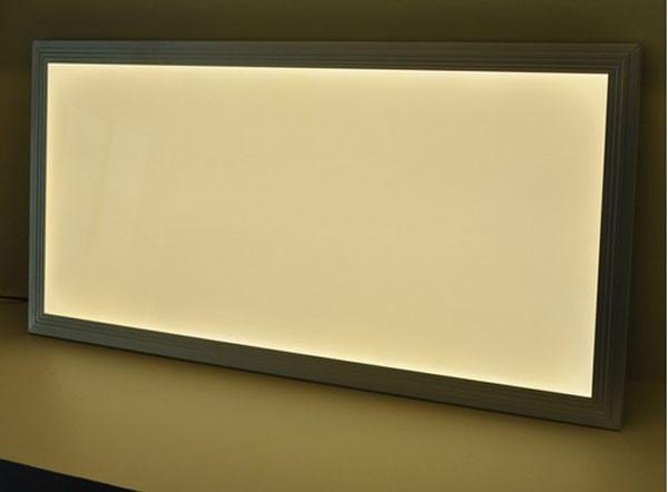 3000K 6000K 300x1200 1*4ft Mm , 2600lm Square 36W Led Ceiling Office Flat Panel Lamp