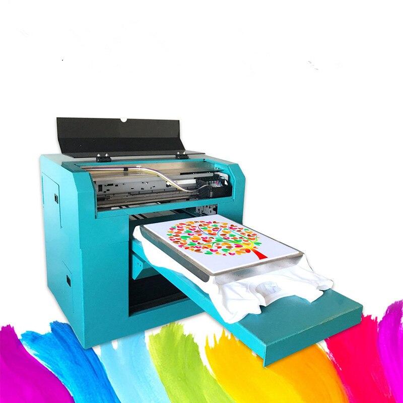 Melhor qualidade DIY Mesa Nova T-Shirt Impressora De Sublimação Digital de Transferência de Calor de Imprensa Máquina de Impressão de impressora T-shirt