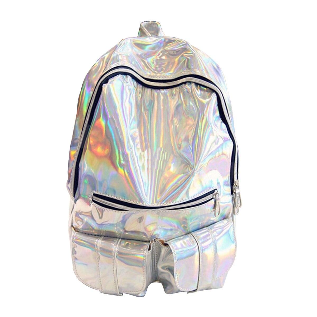 TFTP голографический рюкзак Gammaray голограмма женский рюкзак мужская сумка кожаный голографический рюкзак