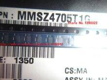 100 STKS MMSZ4705T1G MMSZ4705T MMSZ4705 DIODE ZENER 18 V 500 MW SOD123 nieuwe en originele.
