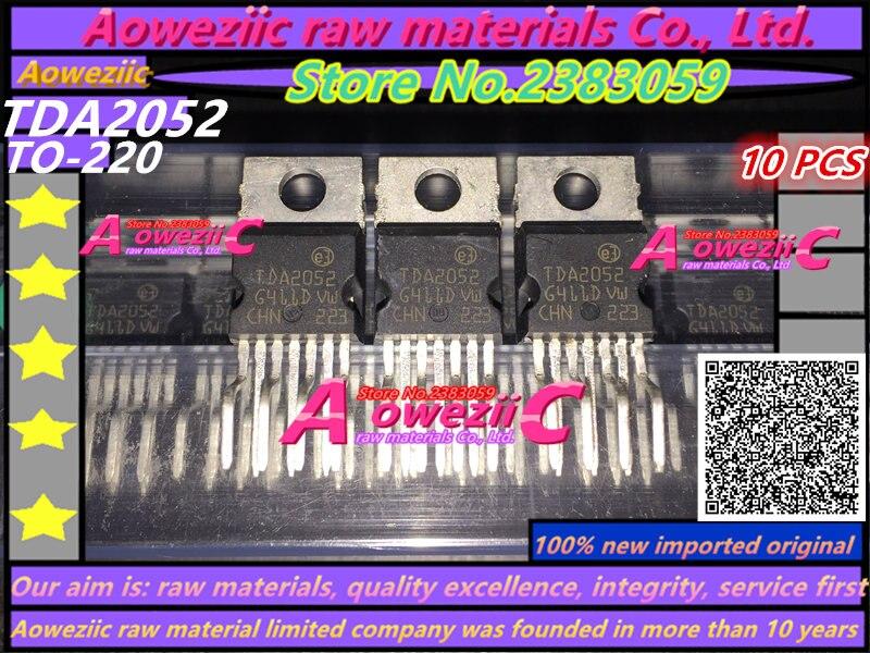 Aoweziic 100% Новый оригинальный усилитель мощности от TDA2052 до-220 Hi-Fi аудио 60 Вт