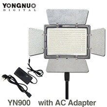 YONGNUO YN900 YN-900 3200k-5500K CRI95 Camera Photo LED Video Light with AC Power Adapter High Beans Lighting Panel for nikon