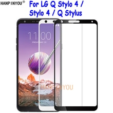 For LG Q Stylo 4 Stylo4 Stylus+ Stylus Alpha Plus Full Cover Tempered Glass Screen Protector Ultra T