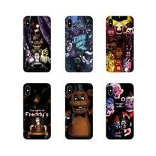 Защитный чехол для телефона Samsung Galaxy J1 J2 J3 J4 J5 J6 J7 J8 Plus 2018 Prime 2015 2016 2017 game Five Nights At Freddys fnaf