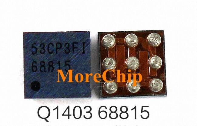 68815 para iPhone 6 6G 6 plus 6 P Q1403 USB cargador IC iPhone 5S Q4 chip de carga 9 pines de alimentación IC 3 unids/lote