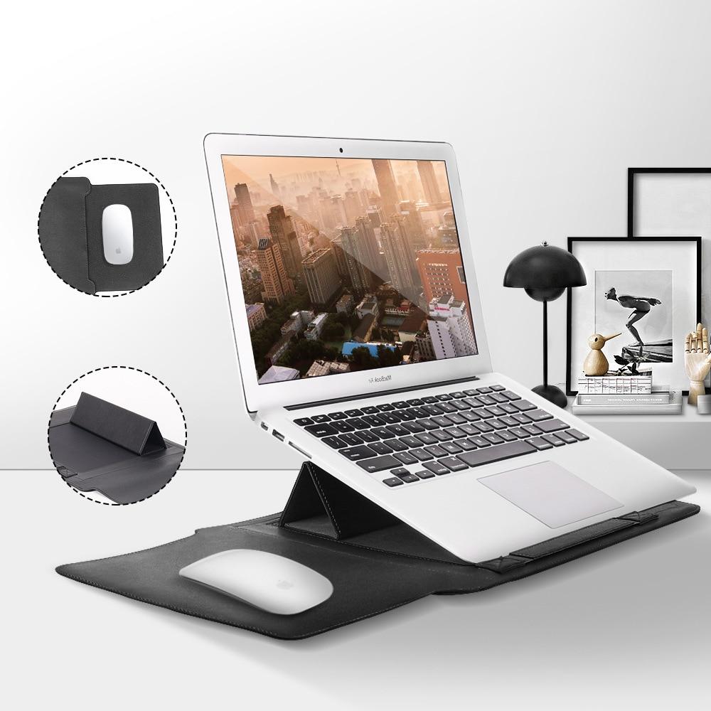 Funda 4 en 1 para Macbook Air 13, funda para portátil, funda para Macbook, soporte para portátil, funda para portátil de 15,6 pulgadas, accesorio portátil para PC