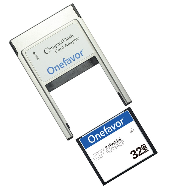 Small Capacity!!! 32MB 64MB 128MB 256MB 512MB Compact Flash Card Industrial CF Memory card With PCMCIA adapter Type II & I