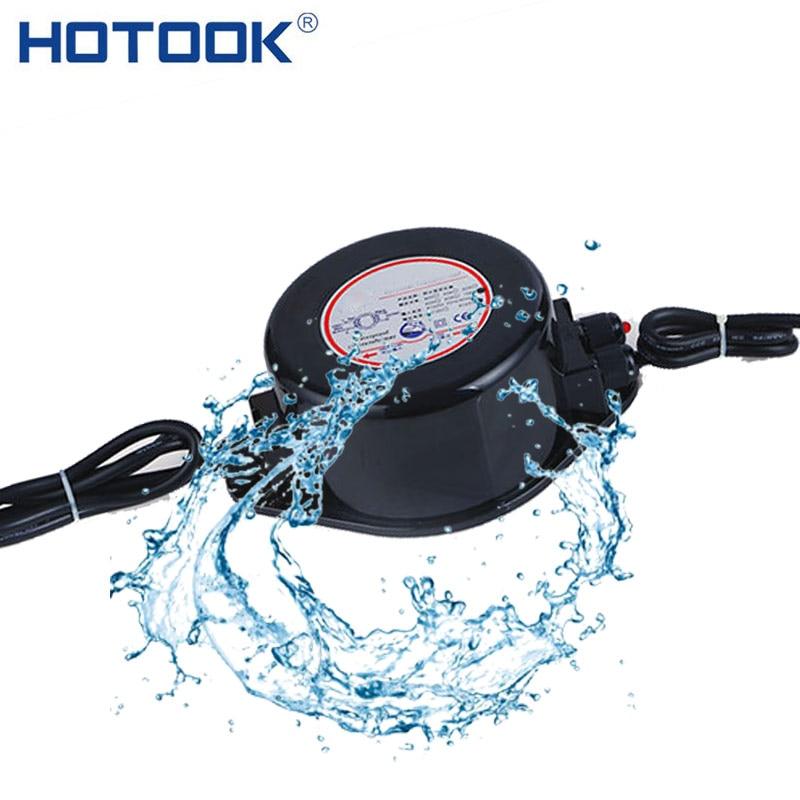 HOTOOK AC 12V Power Supply IP67 Waterproof Underwater LED Driver 60W 220W Transformer AC 110V 220V Adapter for LED Pool Light