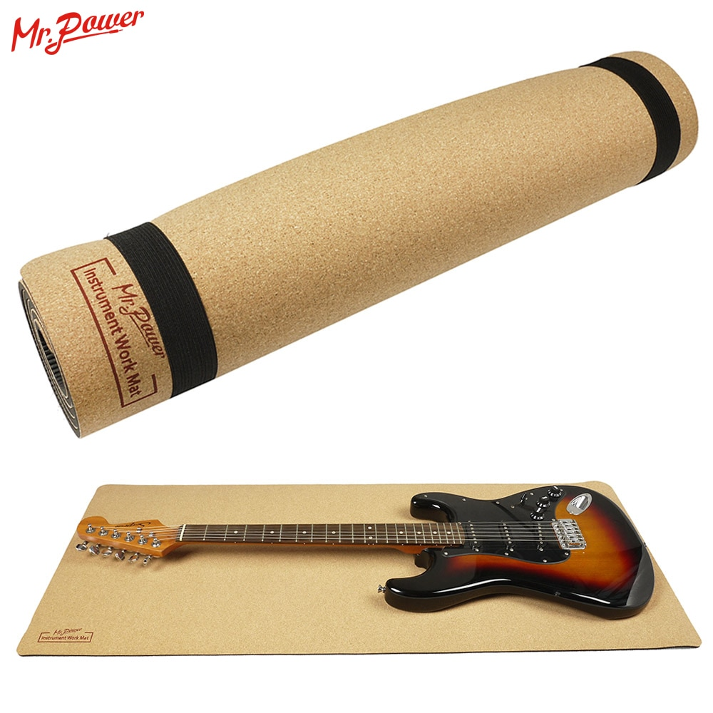 Mr.Power Guitar Neck Rest Support Neck Pillow String Instrument Guitar Mat For Guitar Cleaning Luthier Setup Tool Repair 8 Z enlarge