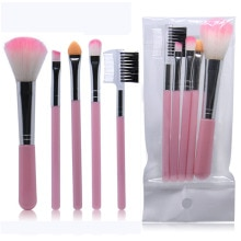 5Pcs/Lot Eye Shadow Foundation Eyebrow Eyeliner Eyelash Lip Brush Makeup Brushes Cosmetic Tool Make