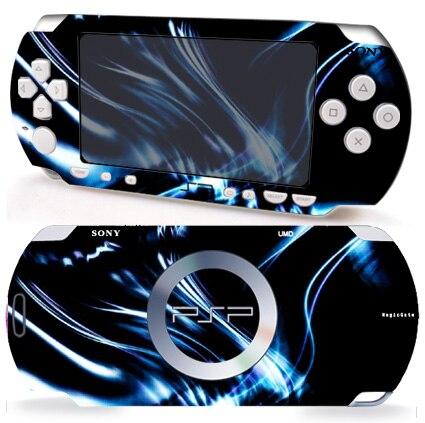 Etiqueta de protección de piel de vinilo azul oscuro 006 para Sony PSP 2000 skins pegatinas para PSP2000