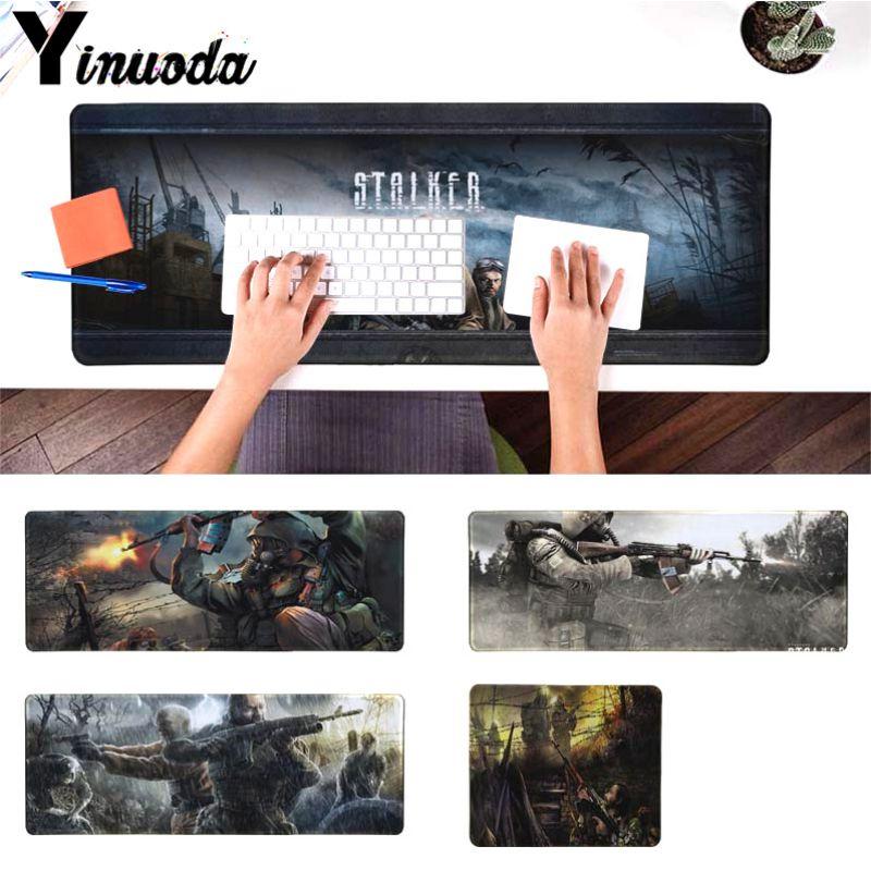 Yinuoda własne maty STALKER gry duża podkładka pod mysz komputer stancjonarny mat rozmiar dla 18x22 cm 20x25 cm 25x29 cm 30x90 cm 40x90 cm