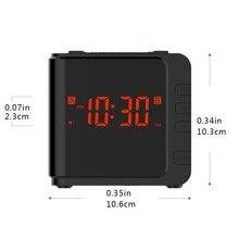 Minuterie montre de sauvegarde batterie double alarme   Radio numérique AM/FM ue/US, prise US, gradateur, Table de nuit