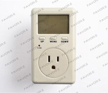 US Version digital current meter , power factor meter D02B