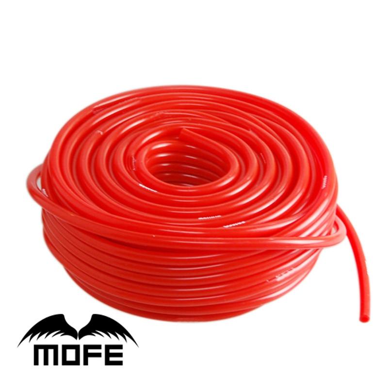 5 metros 3mm/4mm/6mm/8mm manguera de vacío de silicona acoplador de tubo Turbo azul negro rojo