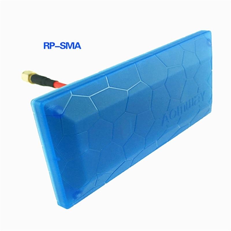Aomway FPV 5,8G 13db antena de alta ganancia de señal de antena direccional SMA RP-SMA para RC receptor para Dron transmisor