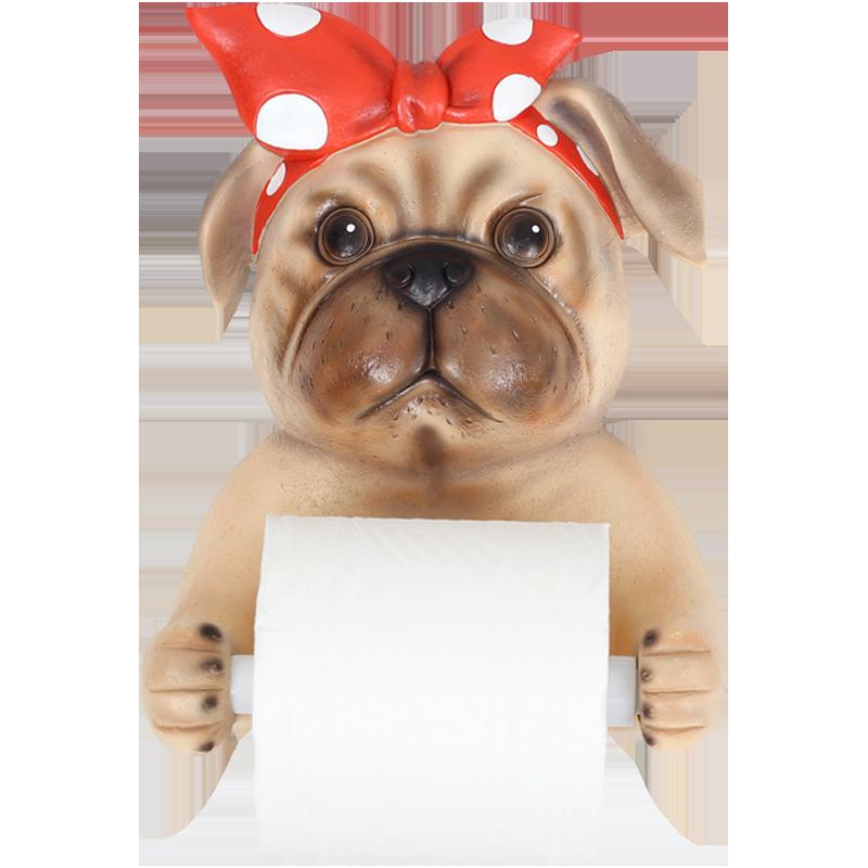 Toallero creativo de papel higiénico, toallero de papel de cocina, toallero de baño, caja de cartón, bandeja, carrete, papel de pared, Baño