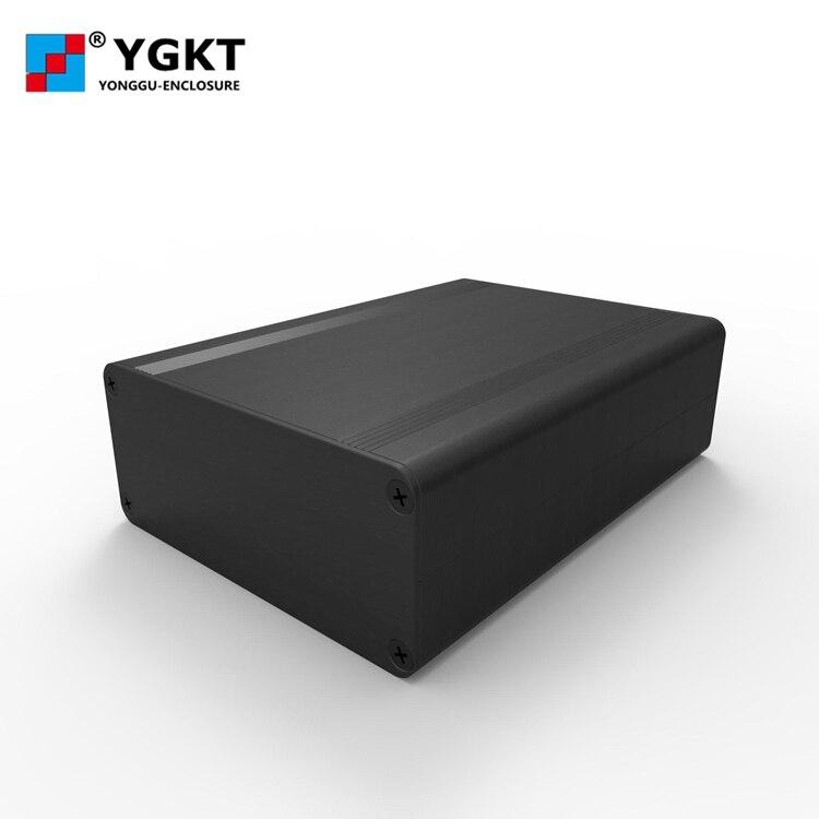 YGS-005 88*38*110mm (w * h * l) OEM personalizado cajas extruidas de aluminio pcb caso