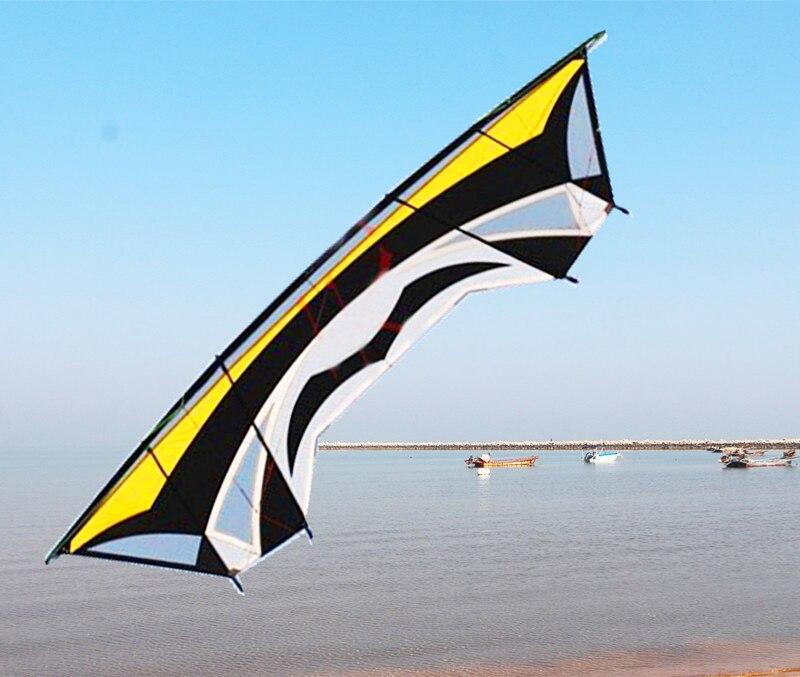 Envío Gratis, cometas grandes de 2,8 m de cuatro líneas para trucos, cometas de potencia para exteriores, cometas para adultos, kitesurfing papalote