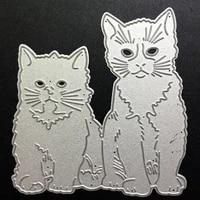 scd874 cat metal cutting dies for scrapbooking stencils diy album cards decoration embossing folder die cuts cutter tools new
