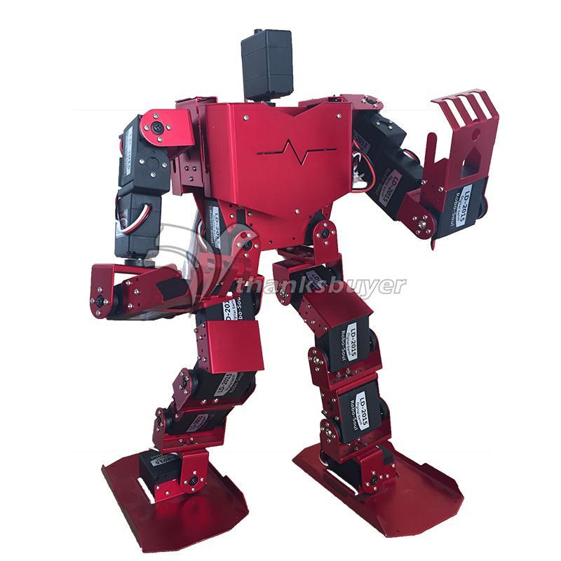19DOF روبوت بشكل بشري-الروح H3.0-19S مسابقة الرقص روبوت بيبدواسة روبوت منصة مع سيرفوس لاردوينو