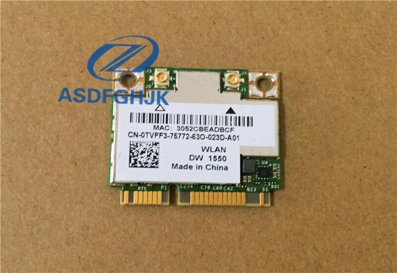 Original para Dell Wireless DW1550 precisión M4800 tarjeta WiFi Bluetooth 4,0 H TVFF3 0TVFF3 CN-0TVFF3 100% prueba ok