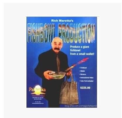 1 Uds Producción de pecera calle etapa Primer plano truco de magia 83158