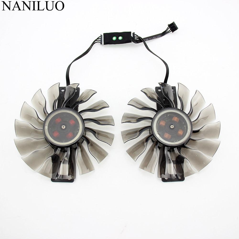 2 unids/lote 90mm GA92S2H GeForce GTX 1060 SuperJetStream GTX 960 ventilador para Palit GeForce GTX960 GameRock GTX1060 tarjeta 760 ventilador