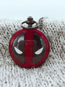 Карманные часы Deadpool Ultraman Alice in wonderland, Кошмар перед Рождеством, Капитан Америка, Бэтмен Локи PB898