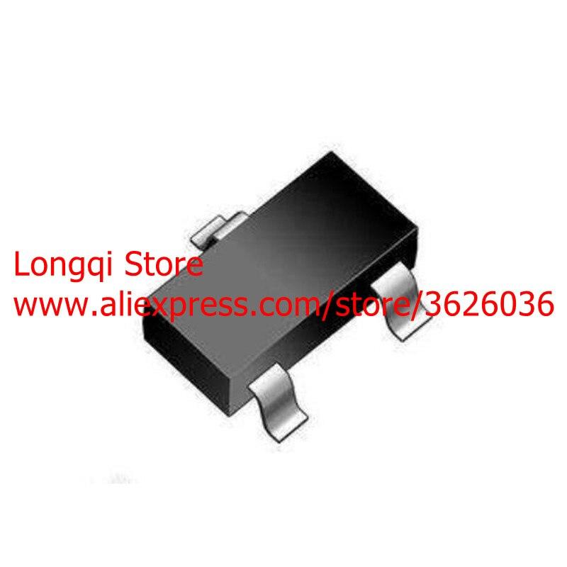 100 Uds 2N7002LT1G 2N7002 marca 702 12W K72 SOT23 SOT-23 señal pequeña MOSFET 60V 115mA n-canal NPN