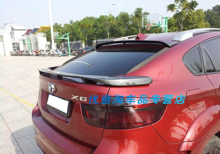 Fit für BMW X6 E71 HAMAN N carbon fiber heckspoiler hinten flügel
