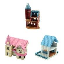 Dollhouse Miniature DIY House Kit Manual Creative Gift for Romantic Artwork Villa