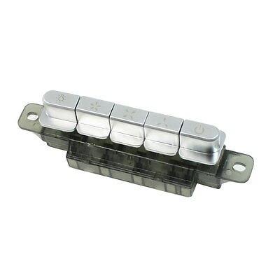Mq165 3-bloqueio 1-reset 1-travamento 5 chaves interruptor 250vac 4a para capa de fogão