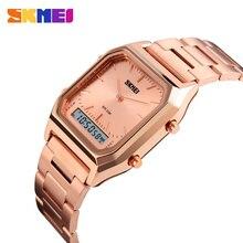 Montres De sport De bracelet dacier inoxydable De montre décontractée à la mode pour hommes
