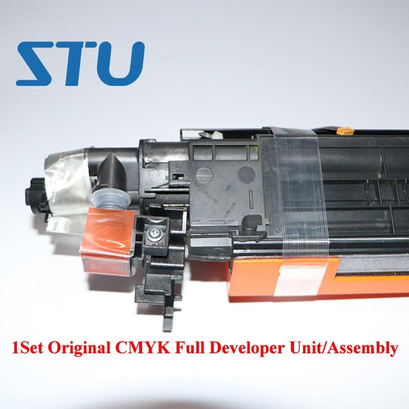 DV512 1Set nuevo Original CMYK desarrollador unidad para Konica Minolta bizhub C224 C284 C364 C224 C364e C554 C454 Develoer Asamblea