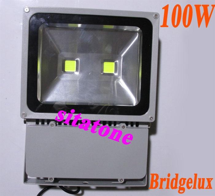 ¡Envío gratis! AC85-265V de 100W, luz led de inundación 130lm/W PF> 0,9, 2*50w, luz led de inundación, lámpara