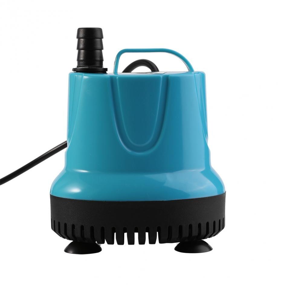 Aquarium Fountain Water Pump Plastic 220V 15W 2000L/H Fountain Air Fish Tank Aquarium Water Submersible Pump