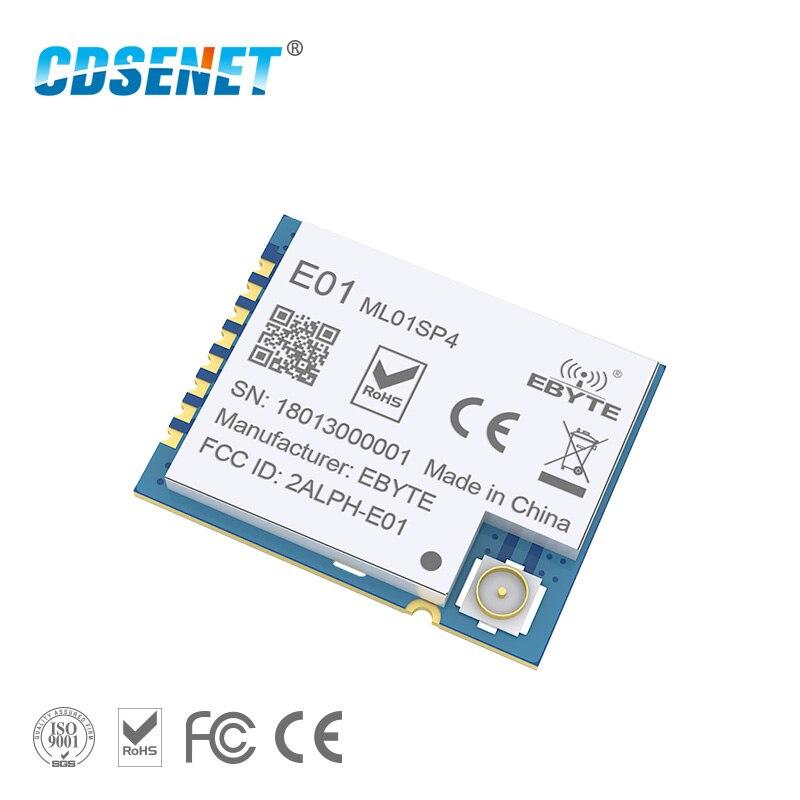 2.4GHz nRF24L01 PA LNA Wireless rf Module Power Amplifier E01-ML01SP4 SPI SMD 2.4 ghz Radio rf Transmitter Receiver for Arduino