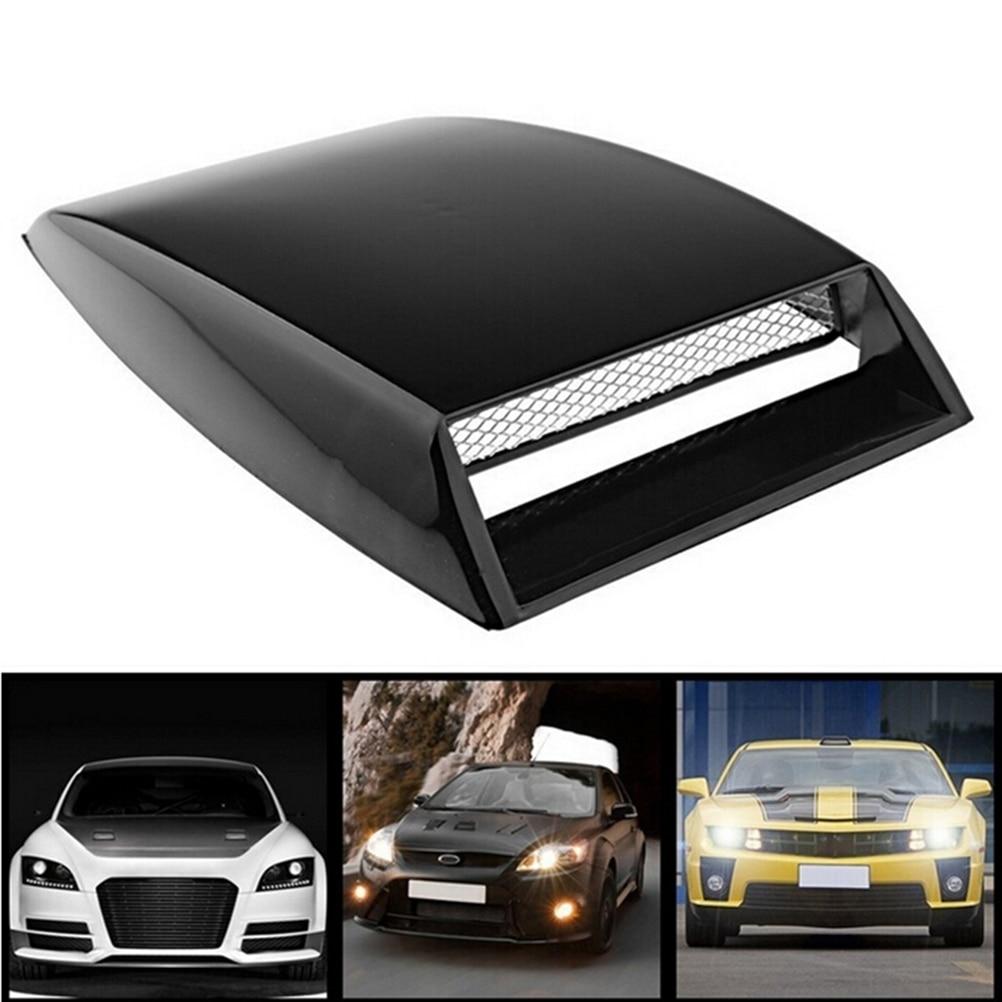 Универсальный автомобиль поддельные 3D вентиляционные пластиковые наклейки капот совок наружное украшение Горячая продажа