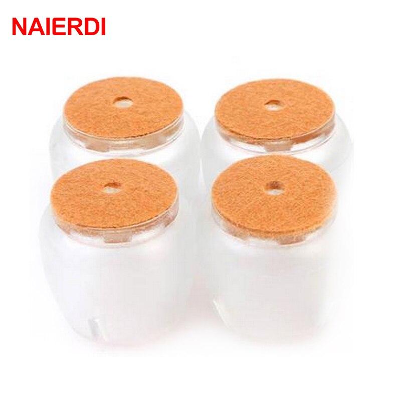 NAIERDI 8 шт. силиконовая защитная подставка для деревянного пола круглые чашки
