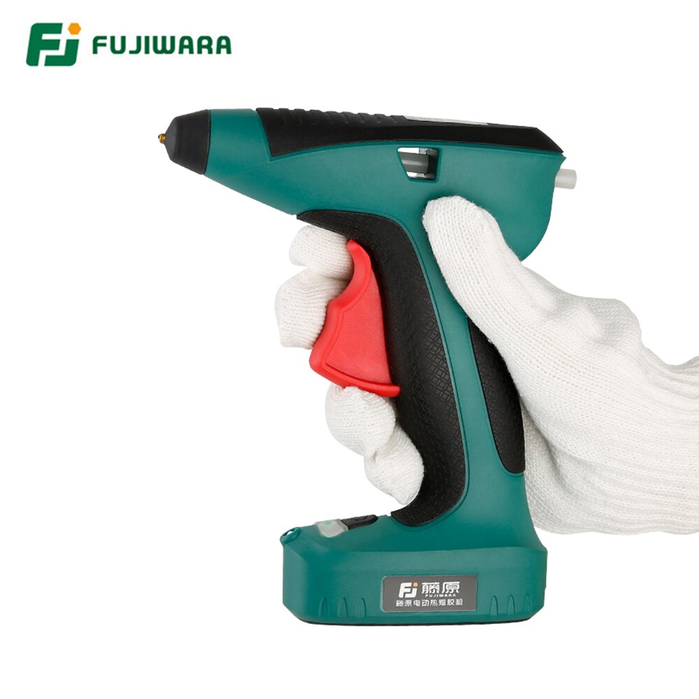 Pistola de pegamento de fusión en caliente eléctrica de litio recargable FUJIWARA de alta calidad 3,6 V 1500mAh