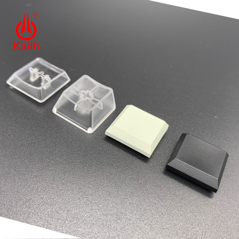 Kailh-أغطية مفاتيح للوحة المفاتيح الميكانيكية منخفضة المستوى ، صندوق 1350 ، مفتاح الشوكولاتة ، أبيض ، أسود ، شفاف ، للألعاب ، DIY