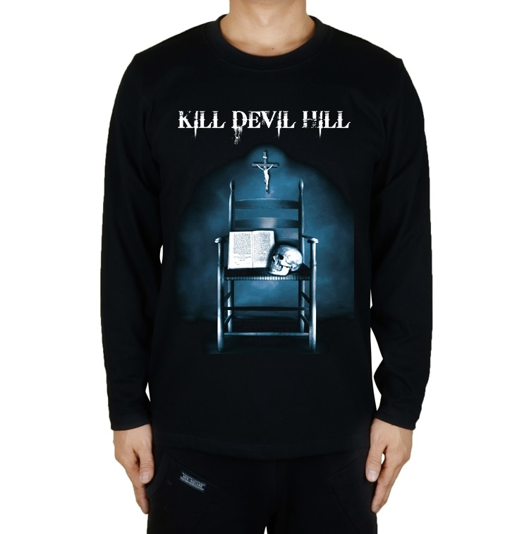Camiseta de manga larga de 4 tipos kill devil hill North Carolina Rock marca de calavera fitness Hardrock heavy Metal 100% algodón