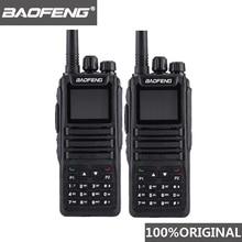 2 pièces Baofeng DM-1701 talkie-walkie longue portée DMR Tier I & II double fente horaire double bande numérique jambon Radio Telsiz Baofeng Dm 1701