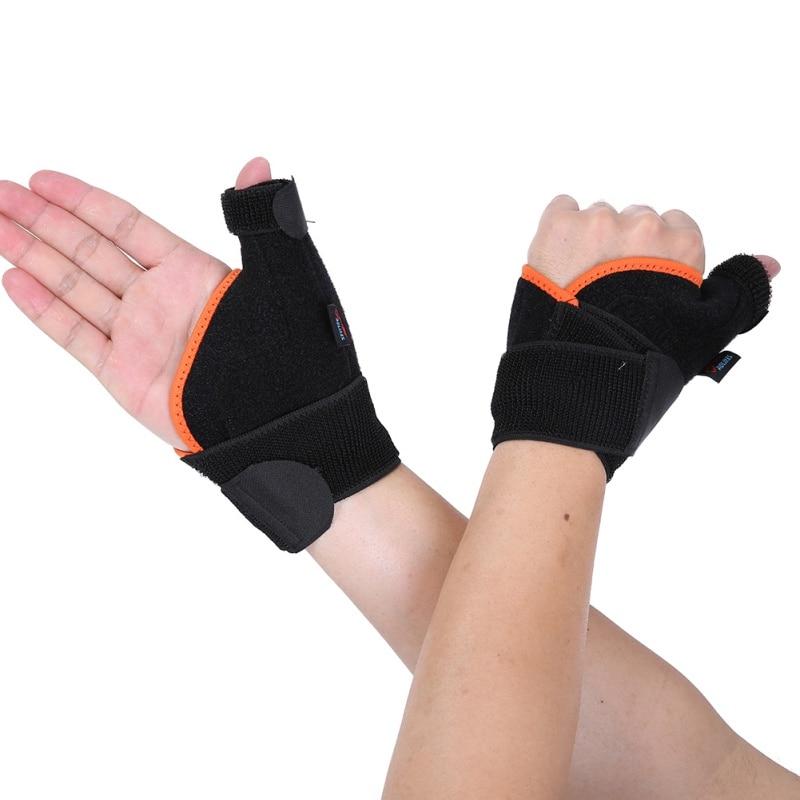 Sport poignet pouce soutien sangles bandage réglable Anti Spraine poignet protecteur gauche/droite main