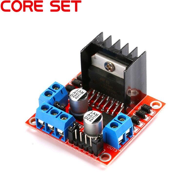 1 шт. умная электроника L298N шаговый двигатель постоянного тока щит для расширения платы для arduino DIY Автомобильный робот двойной H Мост