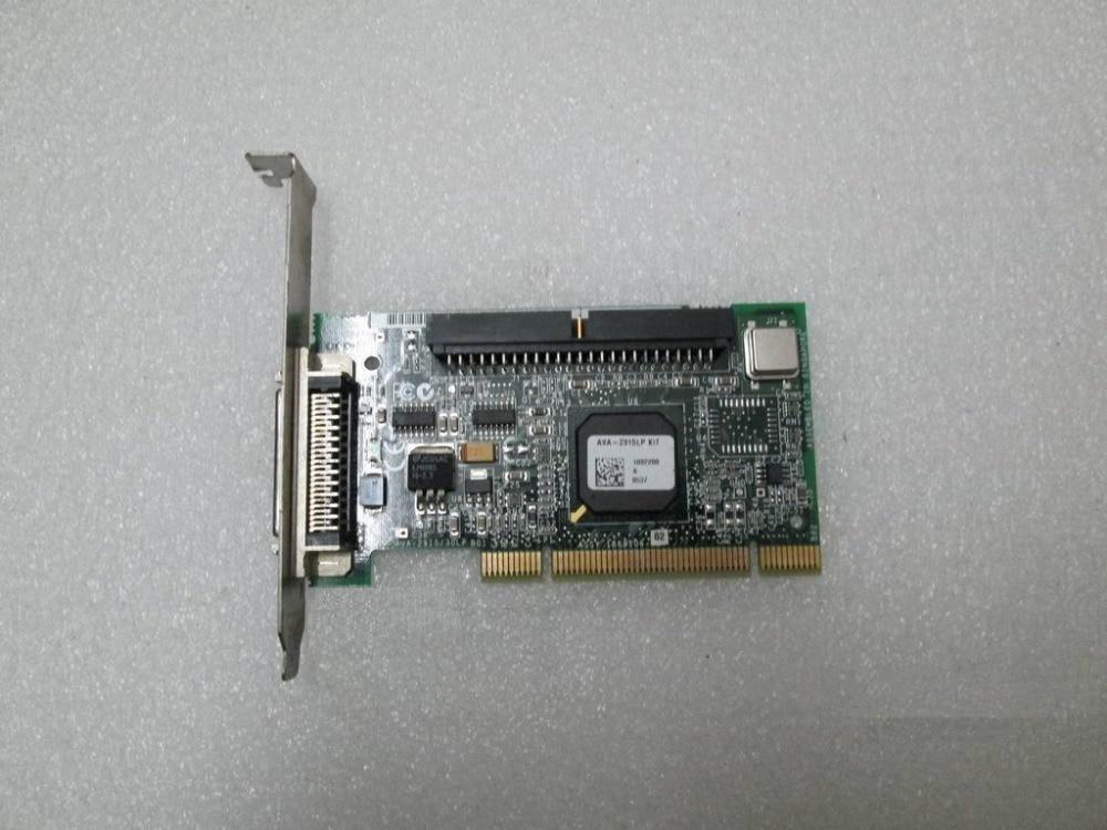 Sauber Gezogen Adaptec AVA-2915LP 2915LP 2930LP PCI 50pin SCSI Controller