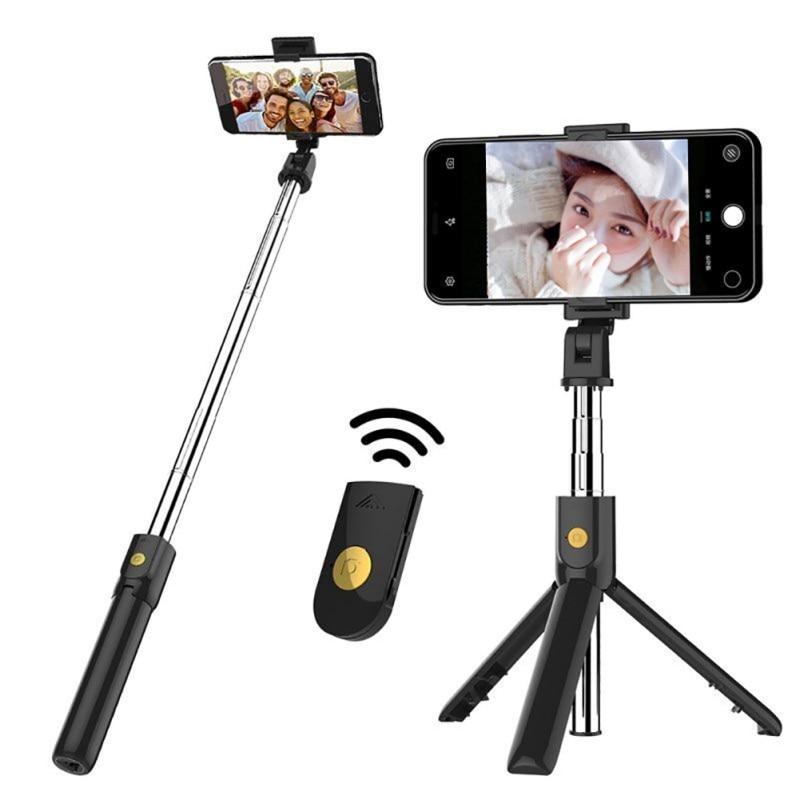 K07 Bluetooth selfie stick obturador inalámbrico Bluetooth 4,0 teléfono móvil artefacto temporizador automático para iPhone SamSung HuaWei Xiaomi