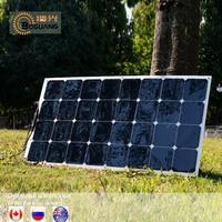 XINPUGUANG Flexible Solar Panel 100w Sun Power Monocrystalline sunpower 200w 18V 12V Lightweight 100 Watt Power plate